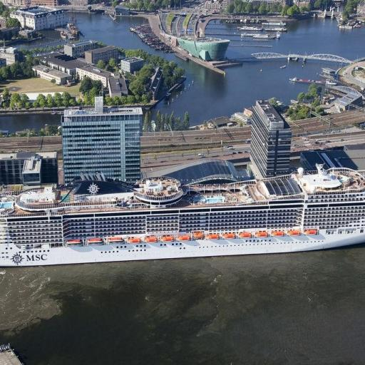 port of amsterdam cruiseship