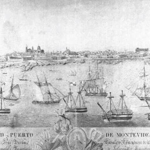 Historic port of Montevideo